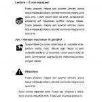 Voici un exemple d'emploi d'icônes et différentes façons de les disposer.